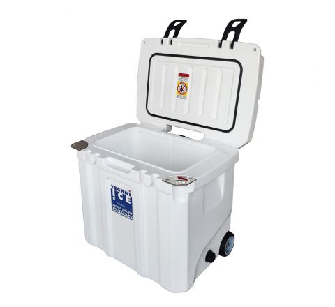 Techni Ice Signature Hybrid Premium Ice Box 35L White with Wheels