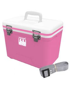 Compact Series Ice Box 12L White Pink