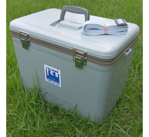 Compact Series Ice Box 28L Grey (Tray not included)