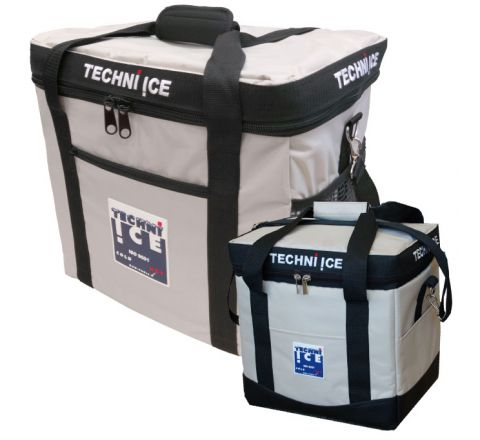 23L + 34L Techni Ice High Performance Cooler Bag Combo - Grey
