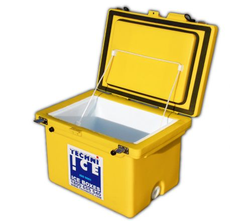 Techniice Classic Ice box 80L Yellow