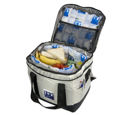 23L Techni Ice High Performance Cooler Bag Grey *End of May Dispatch