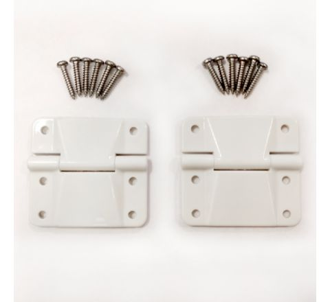 Hinges (A Pair) for Compact Range Coolers *Mid Jan dispatch