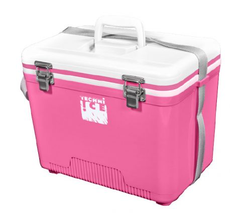 Compact Series Ice Box 18L White Pink