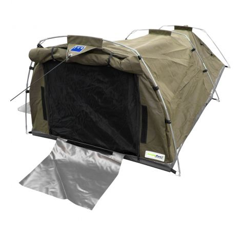 509gsm(15oz) Waterproof Ripstop Canvas Swag - XL (Khaki)