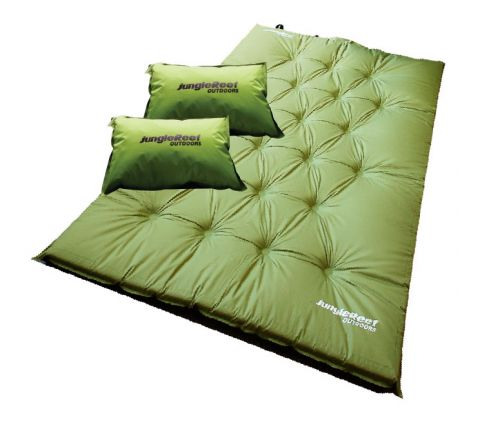 Self Inflating Mattress (Double) + 2 Pillows
