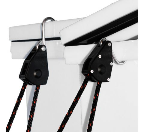 Pair of Rope Ratchet Tie Down System - Economy Model