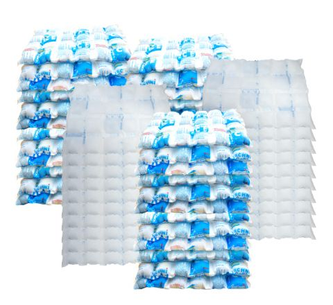 100 Techni Ice STD 2 PLY Disposable/ Minimum Reuse Dry Ice packs *Pre-cut in half for convenience
