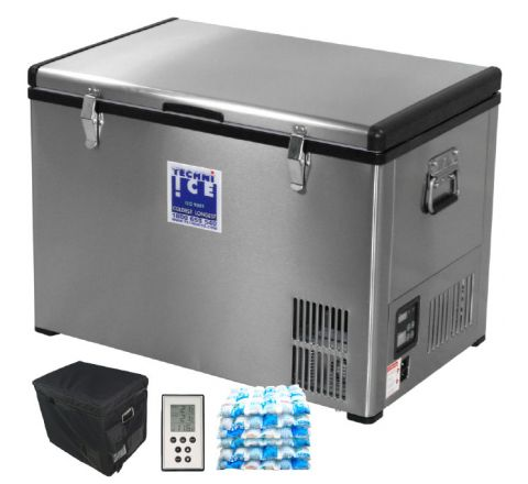 Stainless Steel 4WD Fridge/ Freezer 60L Single Zone (6 Year Warranty) *End APR dispatch