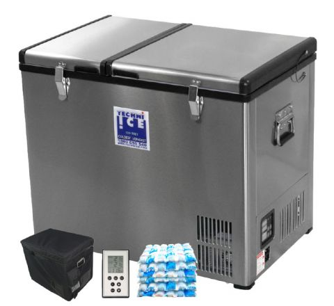 Stainless Steel 4WD Fridge/ Freezer 95L Dual Zone (6 Year Warranty) *End APR dispatch