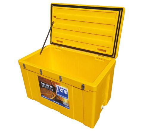 Techni Ice Travel Chill 100L Ice box Yellow *End of APR dispatch