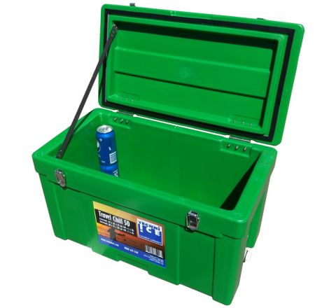 Techni Ice Travel Chill 45L Ice box Green *Late FEB dispatch