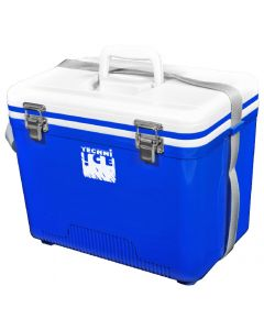 Compact Series Ice Box 18L White Blue